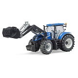 Трактор Bruder New Holland T7.315 с погрузчиком 03-121