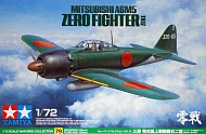 Сборная модель Mitsubishi A6M5 (ZEKE) - Zero Fighter 60779